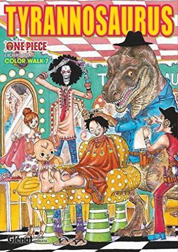 Couverture de l'album One Piece - Color Walk - 7. Tyrannosaurus