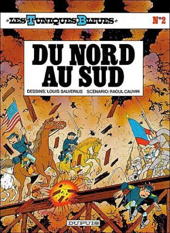 Couverture de l'album Les Tuniques bleues - 2. Du Nord au Sud