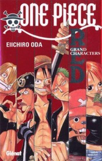 Couverture de l'album One Piece - HS. One Piece Red - grand characters