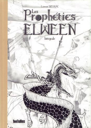 Couverture de l'album Les Prophéties Elween - INT. Les prophéties Elween - Intégrale - noir et blanc