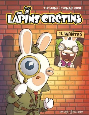 Couverture de l'album The lapins crétins - 11. Wanted