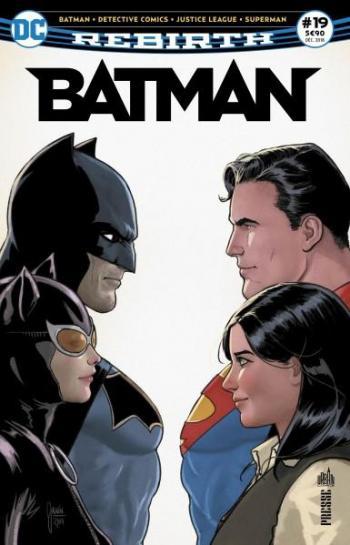Couverture de l'album Batman Rebirth (Urban Presse) - 19. La chute des chevaliers de Gotham!