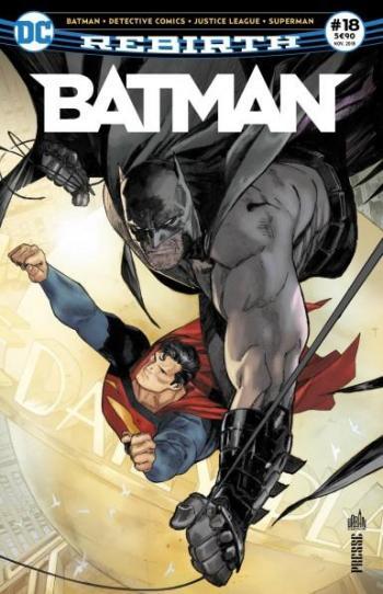 Couverture de l'album Batman Rebirth (Urban Presse) - 18. Fiançailles problématiques!