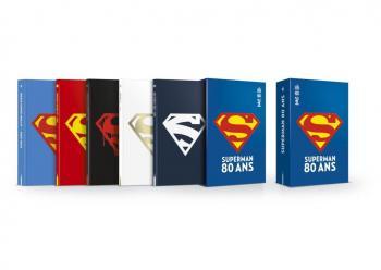 Couverture de l'album Superman - Coffret 80 ans (One-shot)