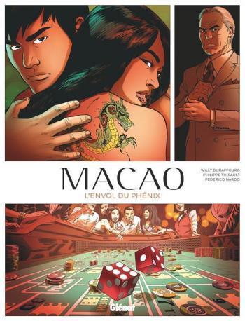 Couverture de l'album Macao - 2. L'Envol du Phénix