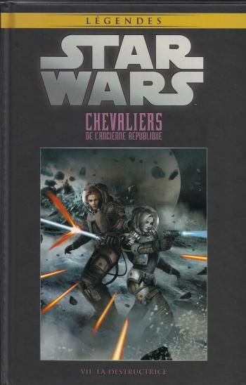 Couverture de l'album Star Wars (Collection Hachette) - 16. Chevaliers de l'ancienne République - VII La destructrice