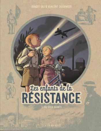Couverture de l'album Les Enfants de la Résistance - 3. Les deux géants