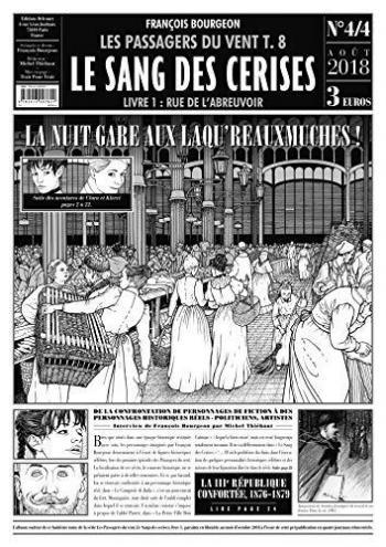 Couverture de l'album Les Passagers du vent - HS. Le sang des cerises - Livre 4/4
