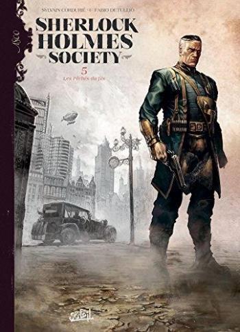 Couverture de l'album Sherlock Holmes Society - 5. Les Pêchés du fils