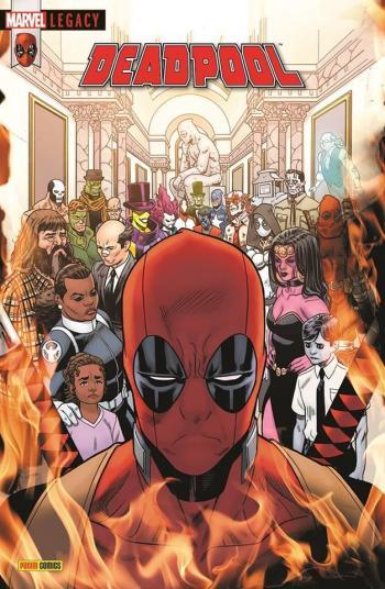 Couverture de l'album Marvel Legacy : Deadpool - 7. L'univers Marvel massacre Deadpool
