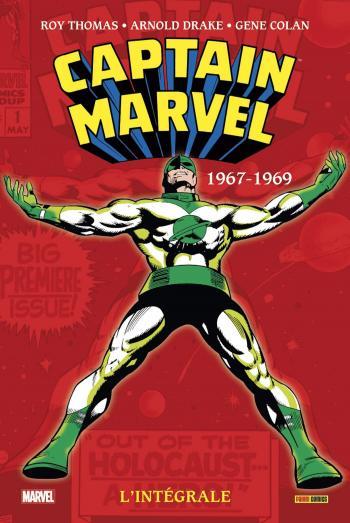 Couverture de l'album Captain Marvel - L'intégrale - 1. 1967-1969