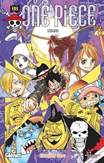 Couverture de l'album One Piece - 88. Lionne