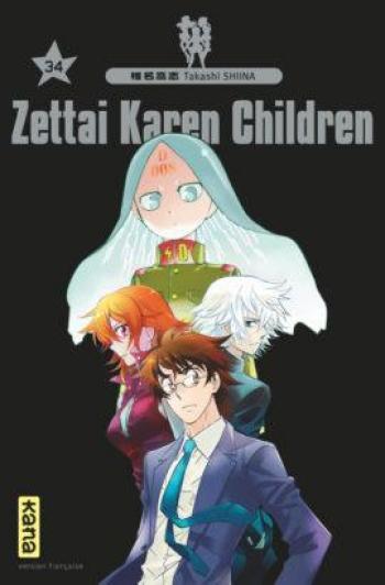 Couverture de l'album Zettai Karen Children - 34. Tome 34