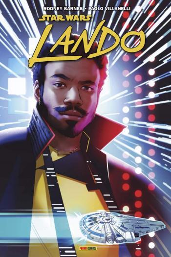 Couverture de l'album Star Wars -10 - Lando - Quitte ou double (One-shot)