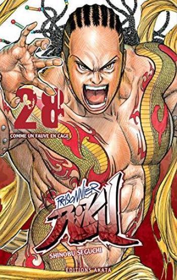 Couverture de l'album Prisonnier Riku - 28. Comme un fauve en cage