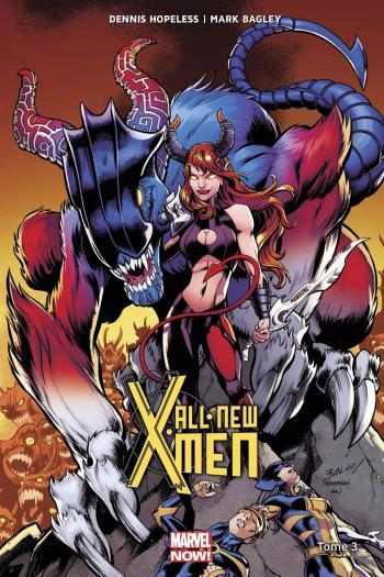 Couverture de l'album All-New X-Men (Marvel Now! V2) - 3. Tome 3