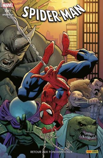 Couverture de l'album Spider-man (V7) - 1. Retour aux fondamentaux