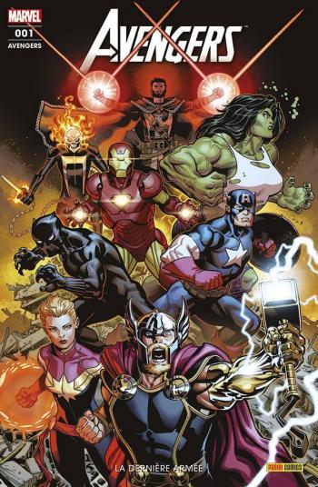 Couverture de l'album Avengers (V6) - 1. La dernière armée