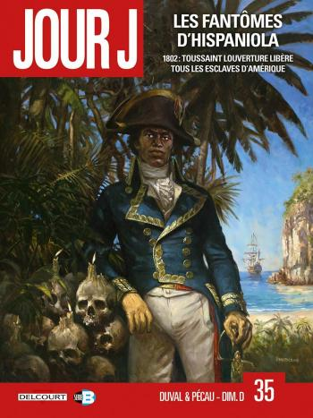 Couverture de l'album Jour J - 35. Les Fantômes d'Hispaniola
