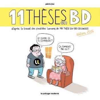 Couverture de l'album 11 thèses en BD - 1. 11 thèses en BD - édition 2016