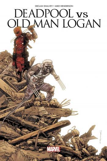 Couverture de l'album Deadpool vs Old Man Logan (One-shot)