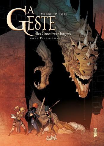 Couverture de l'album La Geste des Chevaliers Dragons - 27. Le Draconomicon