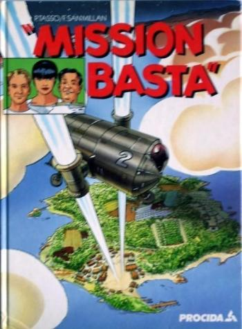 "Couverture de l'album ""Mission basta"" (One-shot)"