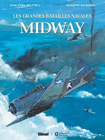 Couverture de l'album Les Grandes Batailles navales - 9. Midway