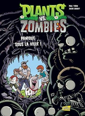 Couverture de l'album Plants vs. Zombies - 6. Panique sous la ville