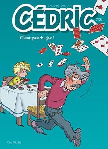 Couverture de l'album Cédric - 32. C'est pas du jeu !