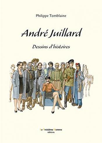 Couverture de l'album André Juillard, Dessins d'histoires (One-shot)