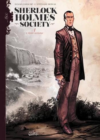 Couverture de l'album Sherlock Holmes Society - 1. L'Affaire Keelodge