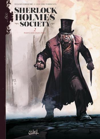 Couverture de l'album Sherlock Holmes Society - 2. Noires sont leurs âmes