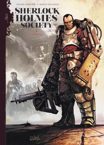Couverture de l'album Sherlock Holmes Society - 4. Contamination