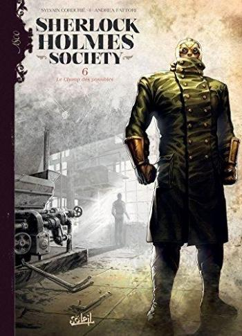 Couverture de l'album Sherlock Holmes Society - 6. Le Champ des possibles