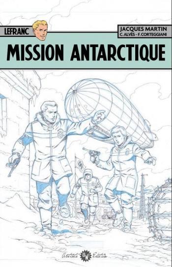 Couverture de l'album Lefranc - 26. Mission antarctique