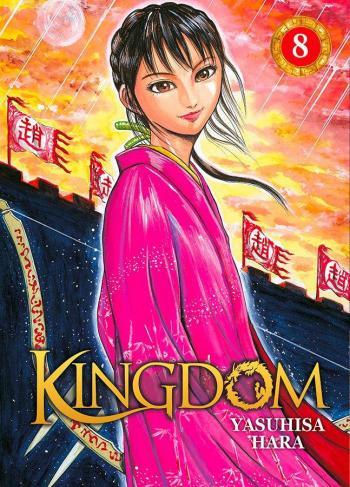 Couverture de l'album Kingdom - 8. La part d'ombre d'un jeune garçon