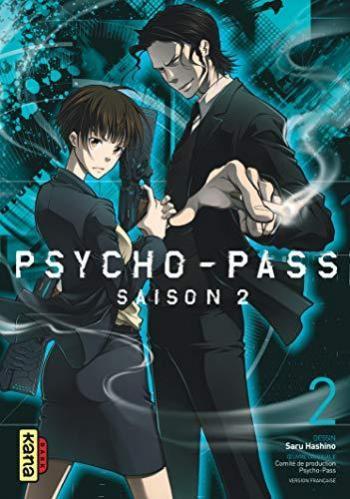 Couverture de l'album Psycho-Pass - Saison 2 - 2. tome 2