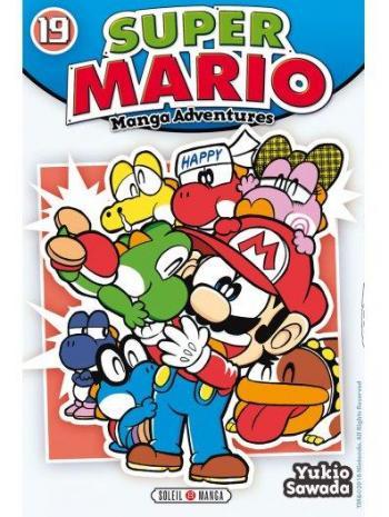 Couverture de l'album Super Mario - Manga Adventures - 19. tome 19