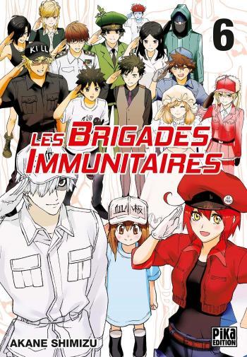 Couverture de l'album Les Brigades immunitaires - 6. Tome 6