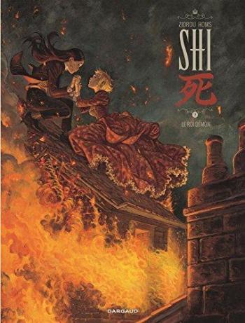 Couverture de l'album Shi (Dargaud) - 2. Le Roi Démon