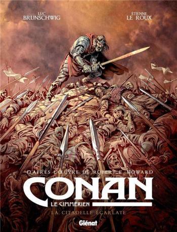Couverture de l'album Conan le Cimmérien - 5. La Citadelle écarlate