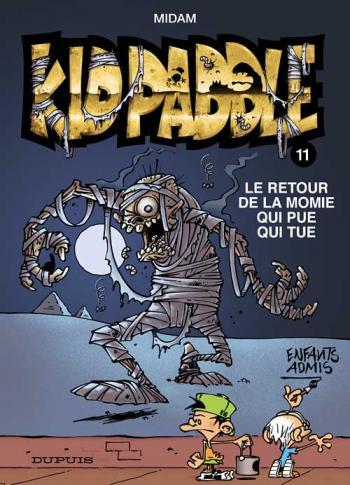Couverture de l'album Kid Paddle - 11. Le Retour de la momie qui pue qui tue