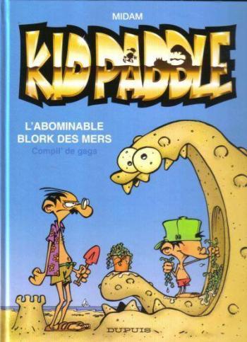 Couverture de l'album Kid Paddle - HS. L'Abominable Blork des mers (Compil' de gags)