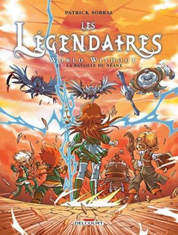 Couverture de l'album Les Légendaires - 21. La Bataille du Néant