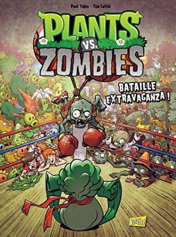 Couverture de l'album Plants vs. Zombies - 7. Bataille extravaganza !