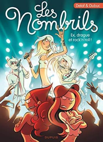 Couverture de l'album Les Nombrils - 8. Ex, drague et rock'n'roll !