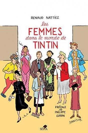 Couverture de l'album Tintin (Divers et HS) - HS. Les Femmes dans le monde de Tintin