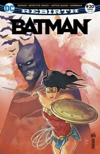 Couverture de l'album Batman Rebirth (Urban Presse) - 20. Hommage à Gueule d'Argile