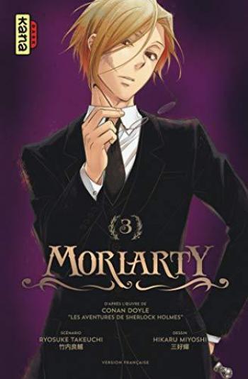 Couverture de l'album Moriarty - 3. Tome 3